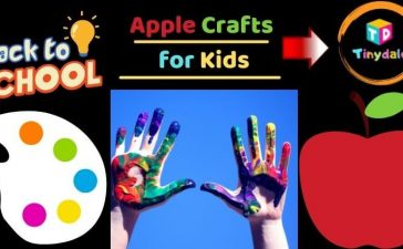 Apple Crafts for Kids - tinydale