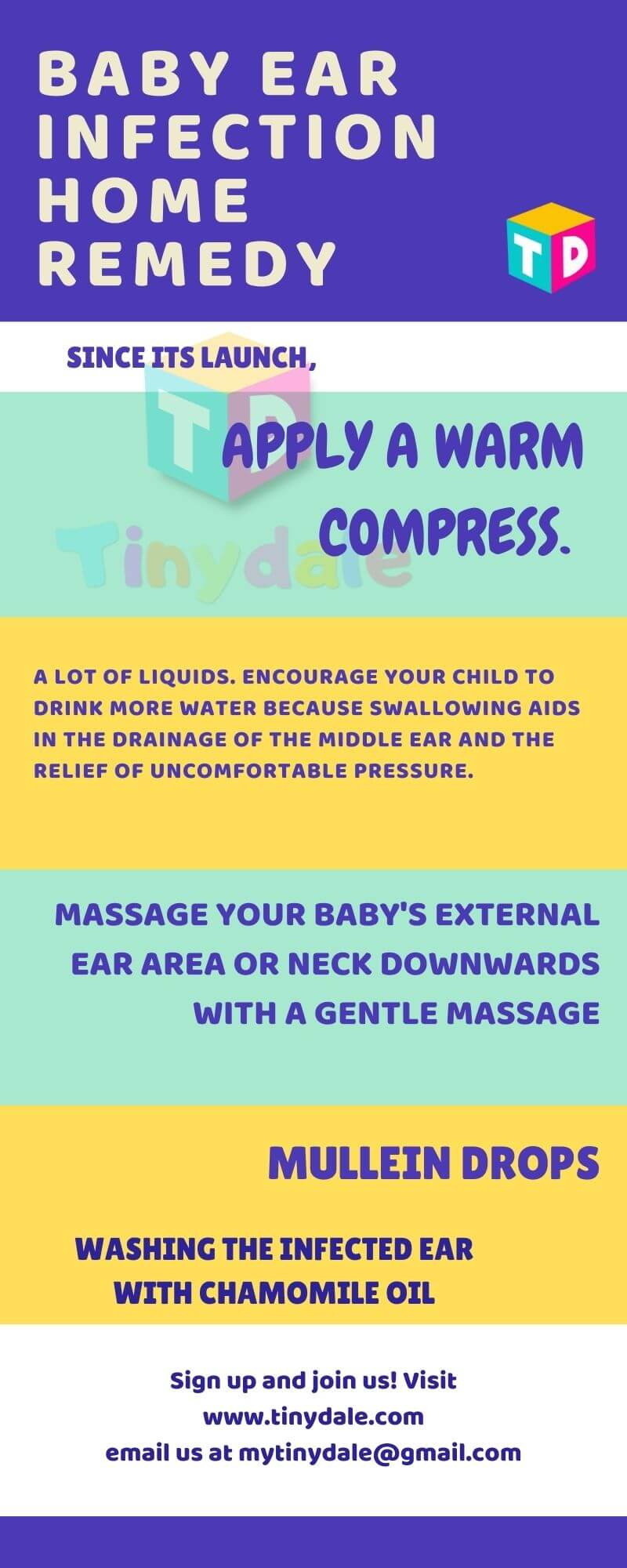 Baby ear infection Home Remedy - tinydale