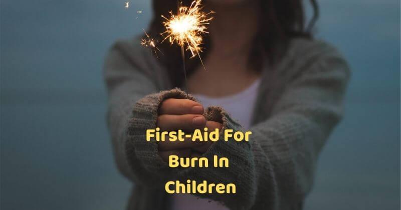 Burn in children