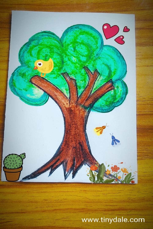 Draw tree step by step