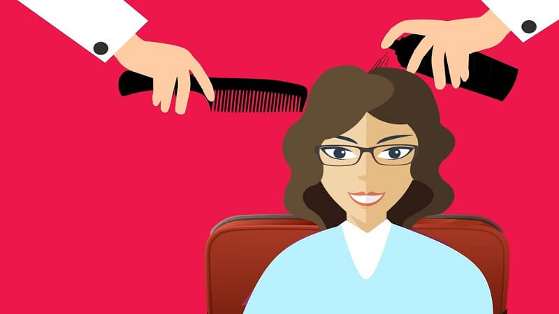 Hair cut for hair loss