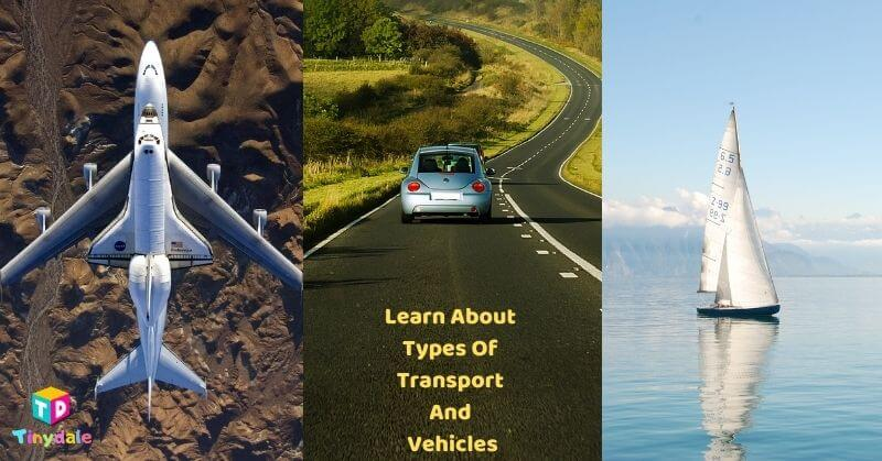 Learn About Types Of Transport And Vehicles