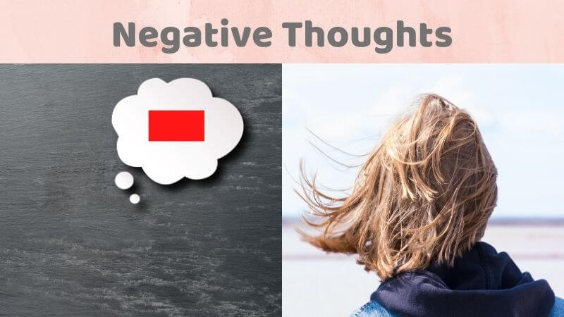 Negative thoughts as anxiety