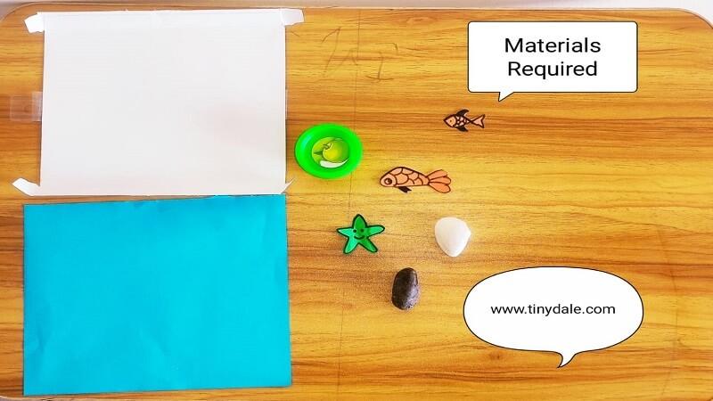 Ocean Craft For Kids Material