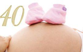 Pregnancy at 40