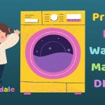 Pretend Play Washing Machine DIY Toy