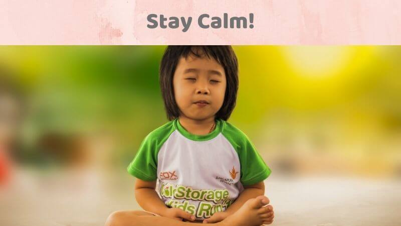 Calm to deal anxiety