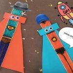 Superhero Popsicles craft ideas - tinydale