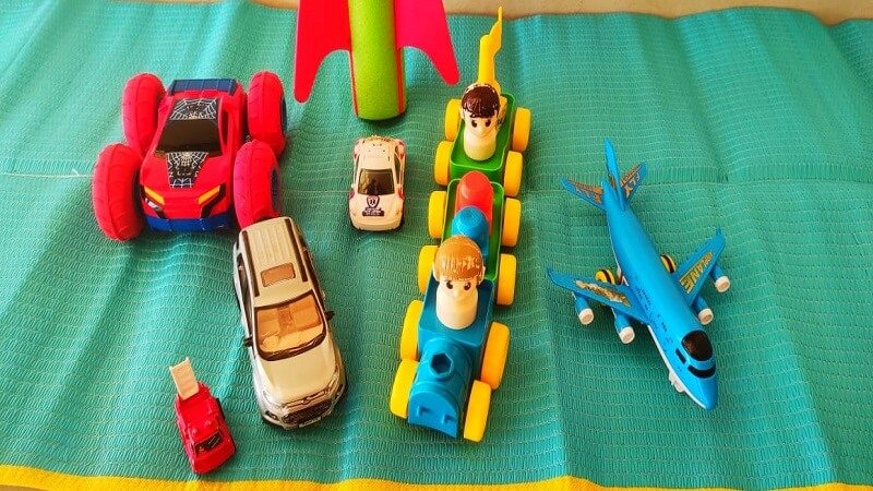 Vehicles in toys