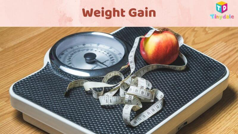 Weight gain in healthy pregnancy