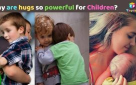 Why are hugs so powerful For Children