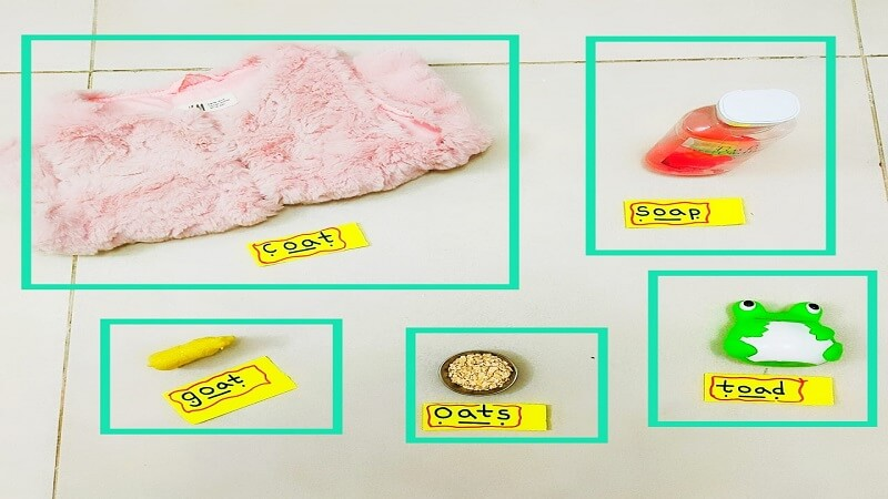 oa Digraph understanding with objects