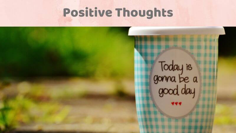 Positivity to deal with anxiety