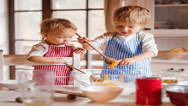 Sharing household chores