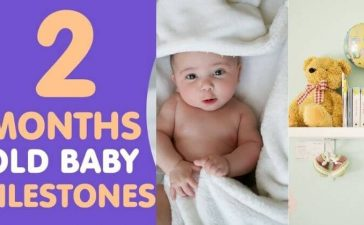 two month old baby milestone