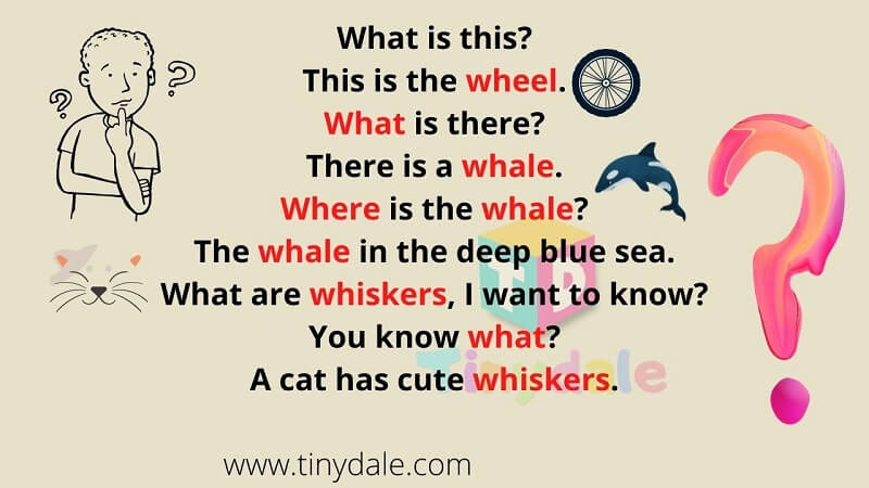 wh words for kids poem